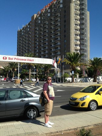 TRYP Tenerife:                   Me at the Dacil