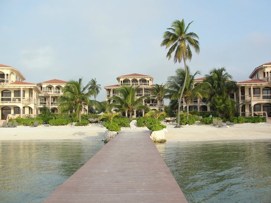 Coco Beach Resort:                   From the front dock