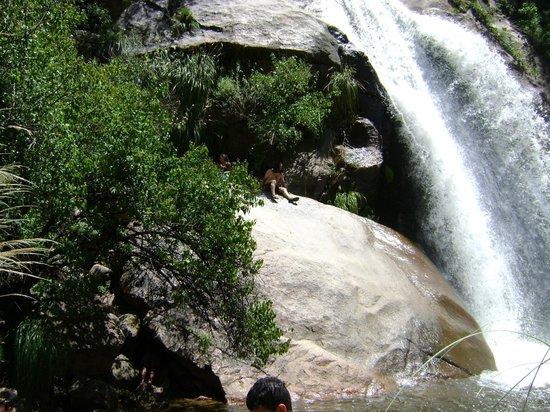 Cafayate, Argentina:                   cascada