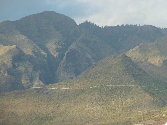 Guayarmina Princess Hotel: view towards Teide