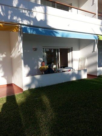 Apartamentos Playa Torrecilla:                   Ground floor apartment