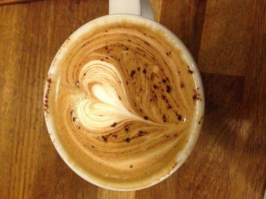 Flat White Durham Cafe :                   best coffee ever