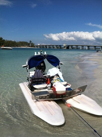 H2O Watersportz:                   Stopped for picnic. 2/13