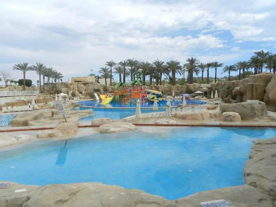 Reef Oasis Beach Resort :                   Younger Children Part of the Aqua Park