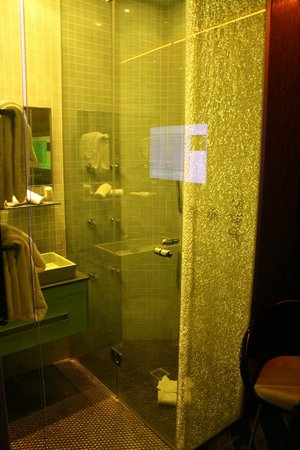 Hotel Sublim Eiffel: Shower