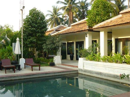 The Sanctuary Villa: Vue sur les chambres