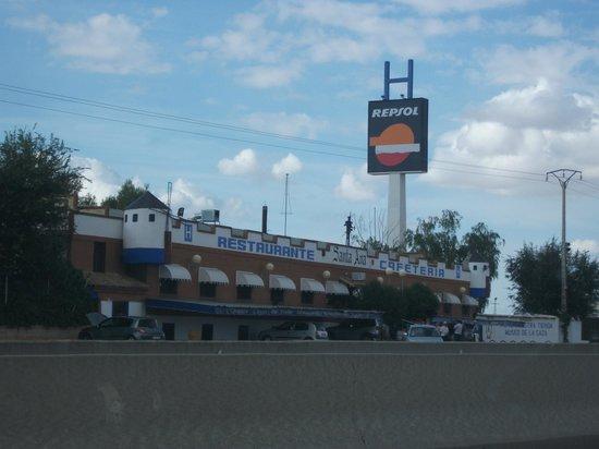 Santa Ana Hostal:                   Outside view