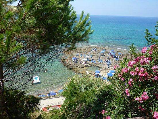 Albergo Miramare: La spiaggia