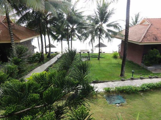 Saigon Phu Quoc Resort:                   Beautiful view from our terrace to the sea
