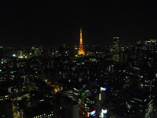 Park Hotel Tokyo:                   Vue de nuit