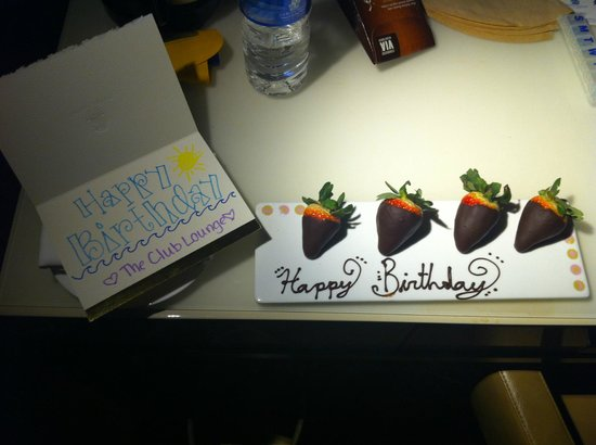 The Ritz-Carlton, South Beach: a special birthday treat - how sweet