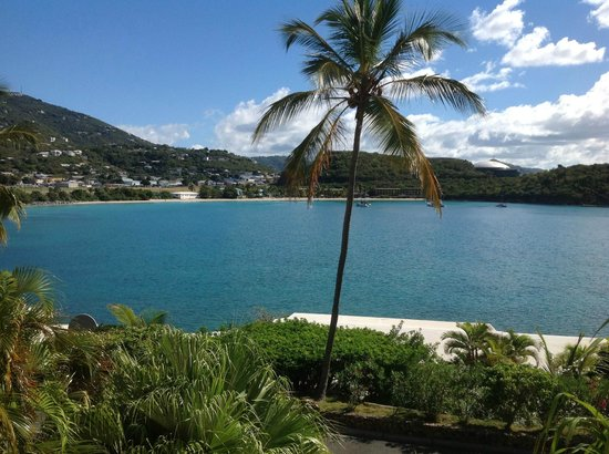 Lindbergh Bay Hotel and Villas:                   Our View