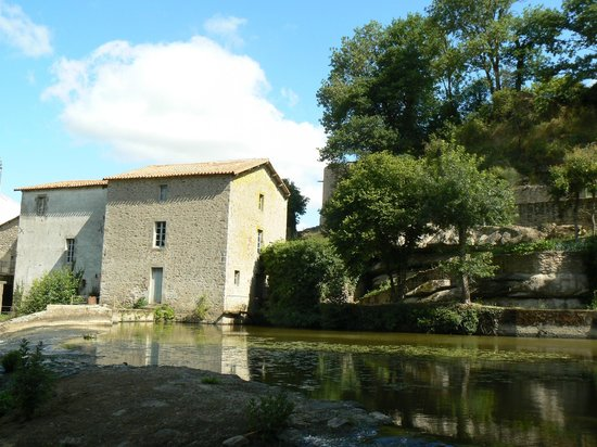 Mallievre, France:                                     Ancien moulin