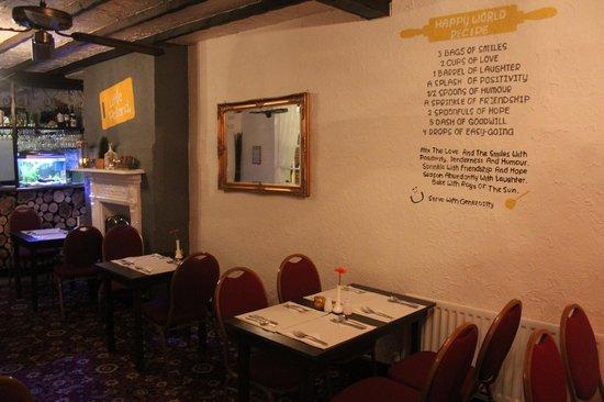 Little Poland: Restaurant inside