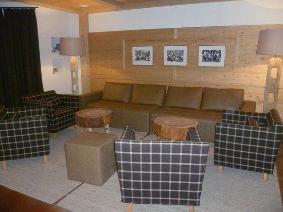 Hotel Pütia: salotto
