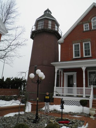 Braddock Point Lighthouse B&B Bed & Breakfast:                                                       This is a working lighthouse