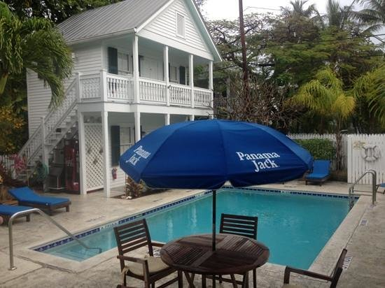 The Conch House Heritage Inn:                   Pool and poorhouse