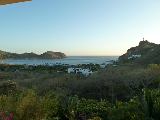 Las Palmas B&B:                   View from king suite