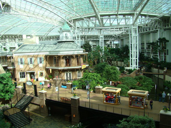 Gaylord Opryland Resort & Convention Center:                   This place is unbelievably HUGE!