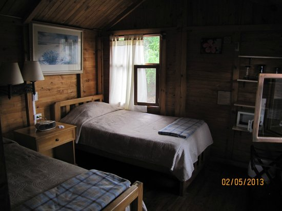 Floreana Lava Lodge:                   Our room
