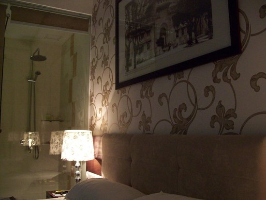 Grand Silverland Hotel & SPA: Room with shower