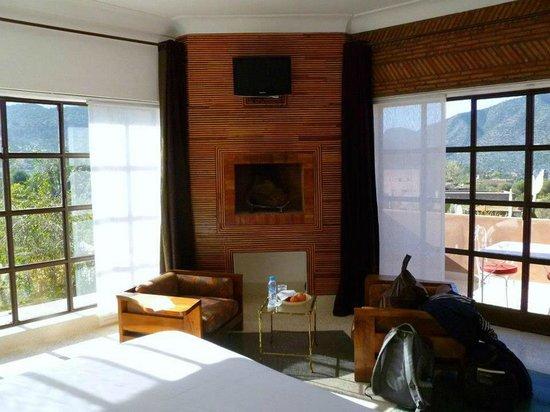 Domaine Malika:                   My room