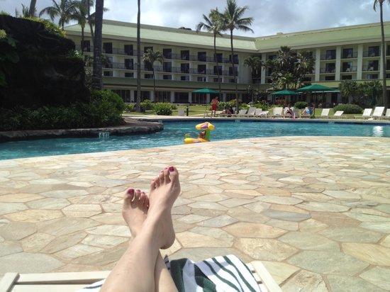 Kauai Beach Resort:                   Resort pool