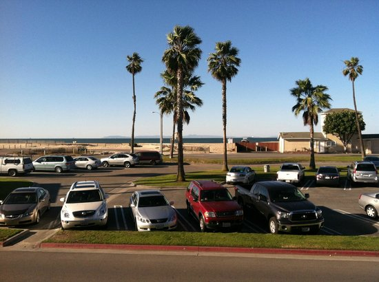 Travelodge Ocean Front:                   View from patio.