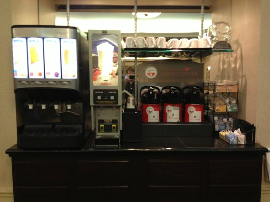 Best Western Plus Heritage Inn:                   Juices, coffee,tea blends