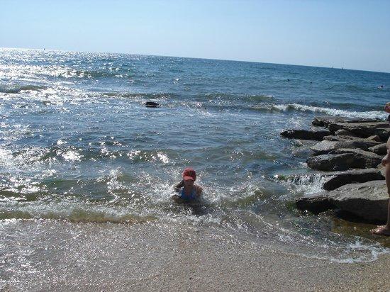 Feodosia:                   Море очень чистое в Феодосии