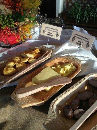 Redyk - Osrodek Uslug Hotelarskich : breakfast, varieties!