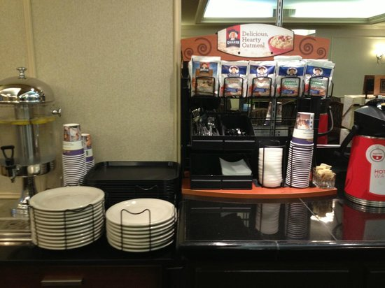 Best Western Heritage Inn:                   nice breakfast options