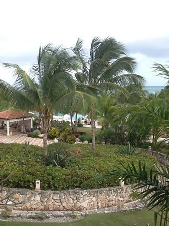 Sanctuary Cap Cana by AlSol:                   view out of our room