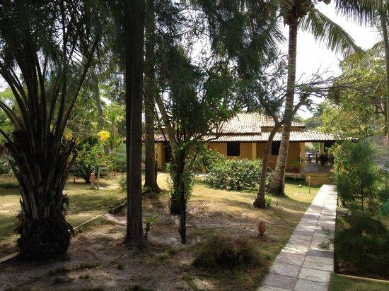 Vila Imbassai: View from room veranda