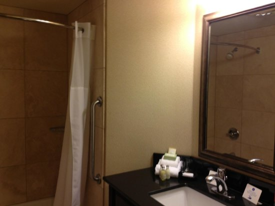 Best Western Heritage Inn:                   Bathroom