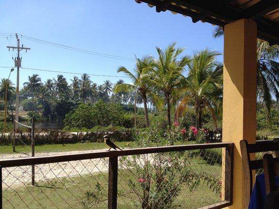 Vila Imbassai: Dining veranda view