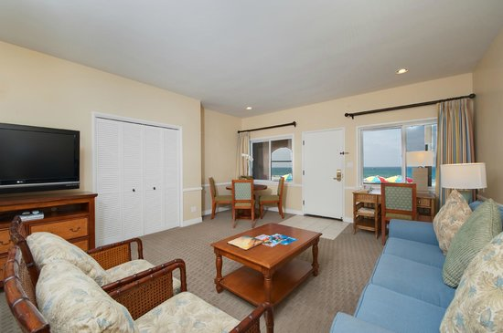 La Jolla Beach & Tennis Club: Beachfront Suite