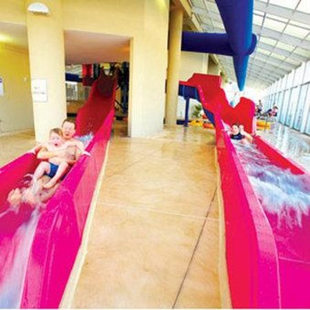 Dunes Village Resort: Indoor Adult Size Water Slides