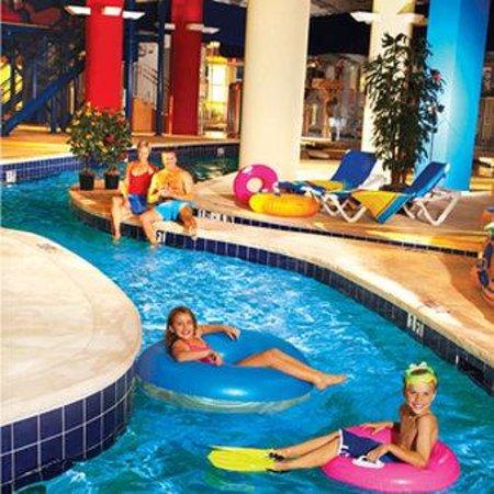 Dunes Village Resort: Palmetto Indoor Waterpark Lazy River