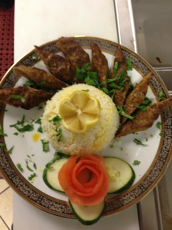 BayLeaf Indian Restaurant & Banquet: Lamb Sheekh Kabab