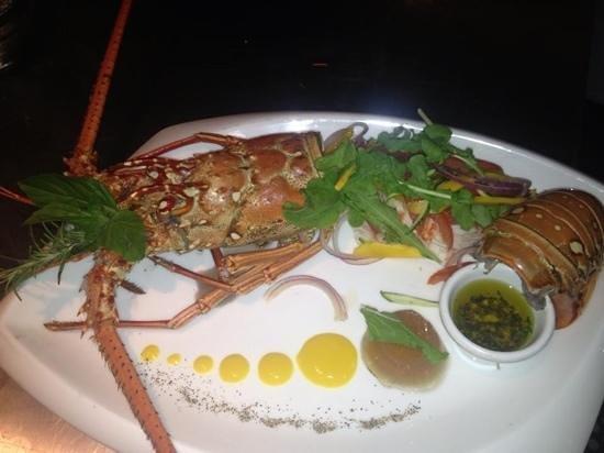 Il Giardino:                                     Lobster tagliata