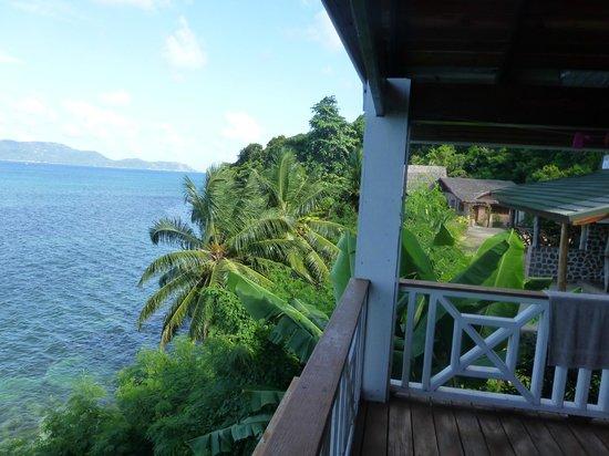 Colibri Guest House:                   zimmeraussicht