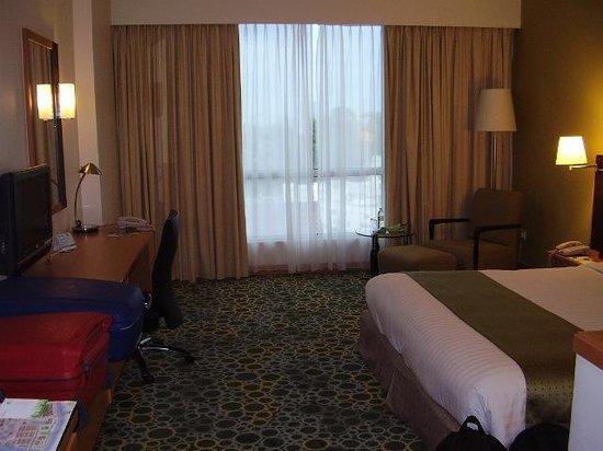 Holiday Inn Melaka: Our room, Melaka view