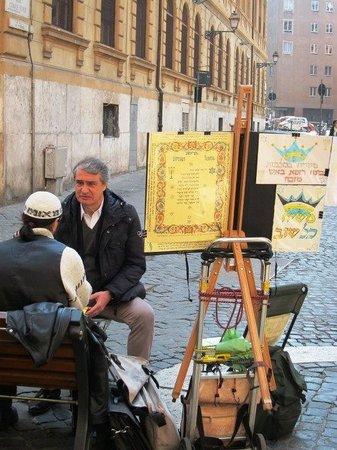 Firenzeart Gallery:                   Cidade dos artistas de rua.