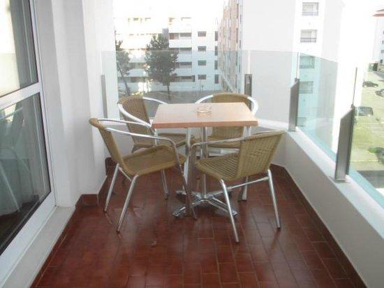 Alcazar Hotel & SPA: Terraza