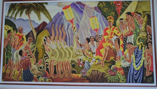 The Royal Hawaiian, a Luxury Collection Resort: RH Original painting 2