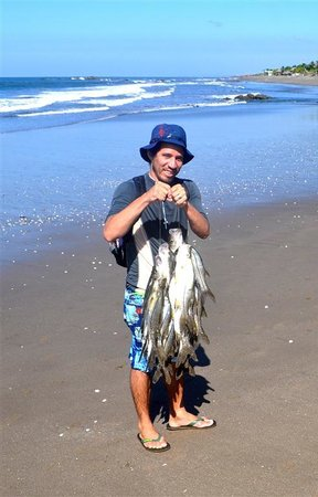 Playa Roca Beach Hotel:                                     easy to buy fresh fish or catch them yourself