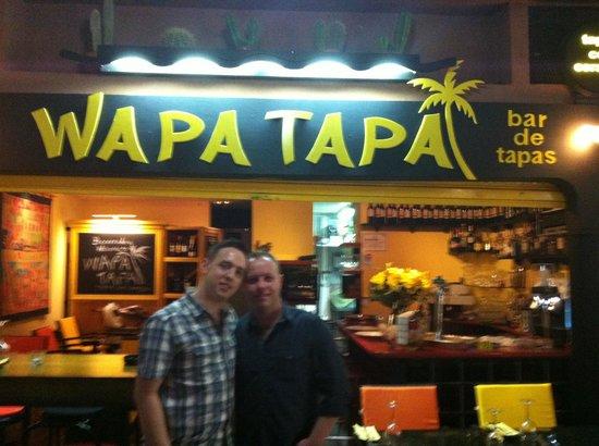 Wapa Tapa:                                     Mike and Wayne