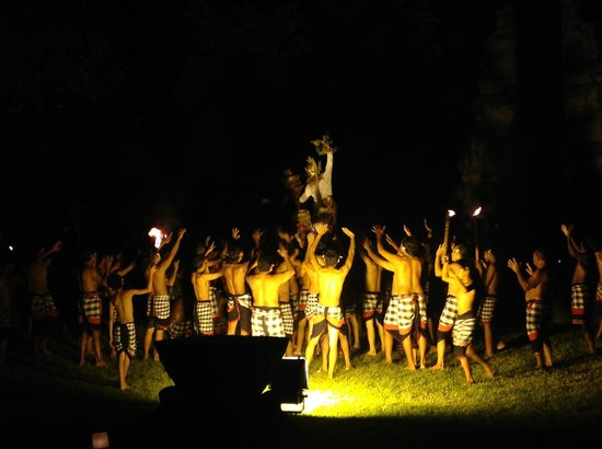 The Chedi Club Tanah Gajah, Ubud, Bali – a GHM hotel:                   Kecak Performance