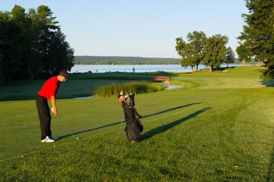 Sugar Lake Lodge: Signature hole #18